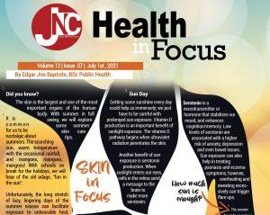 ANNOUNCEMENT: Jolly's 'Health in Focus' newsletter