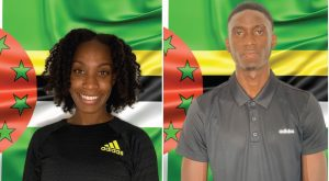 Athletes confirmed to represent Dominica at the Tokyo 2020 Olympic Games