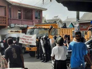 Ten arrests made in connection with weekend protest in Antigua