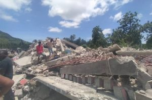 IOM supports first response to earthquake in Haiti