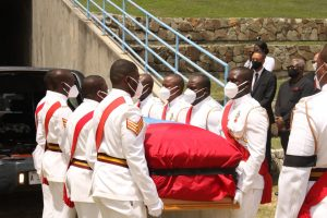 Antigua's second Prime Minister being laid to rest today