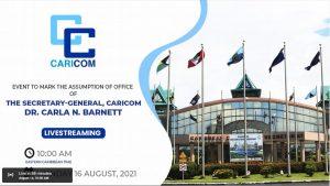 LIVE from 10AM: Installation of New CARICOM Secretary-General