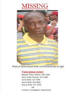Family in search of Mahaut man missing for two weeks