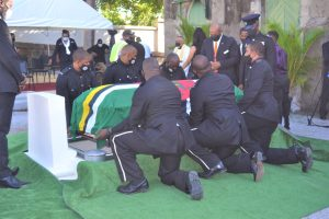 IN PICTURES: State Funeral of Dominica's first prime minister, Patrick Roland John