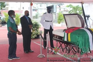 IN PICTURES: Viewing of the body of the late Patrick Roland John