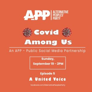 Covid Among Us – a United Voice
