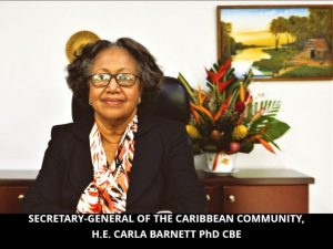 Statement by the Secretary-General of the Caribbean community on Caribbean wellness day 11 September 2021