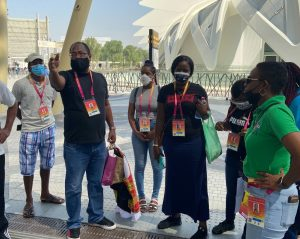 Dominican contingent in UAE to participate in EXPO 2020 Dubai (with photos)