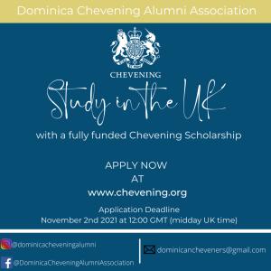 PSA: Applications open for Chevening Scholarship