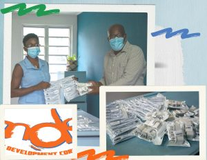 MDC donates 100 wall USB chargers to primary school