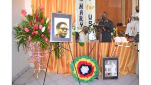 'He worked to improve the lives of the poor' – from the eulogy of Patrick John