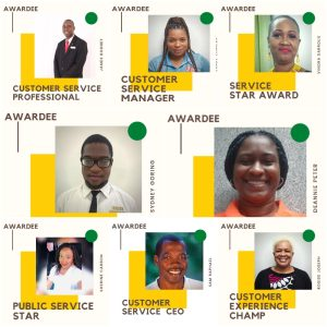 Awardees of Service Excellence 2021
