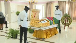 LIVE: Lying in State of the honourable Edward Registe